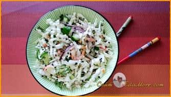 салат из креветок простой и вкусный