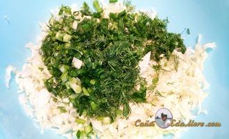 салат из капусты и икры минтая ютуб