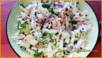 салат +с креветками самый вкусный пошаговый