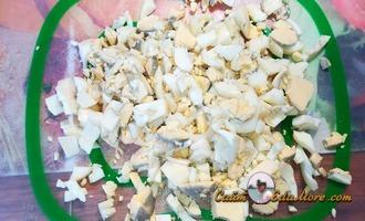 тушки кальмара фаршированные рецепт