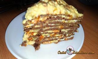 как делать печеночный торт