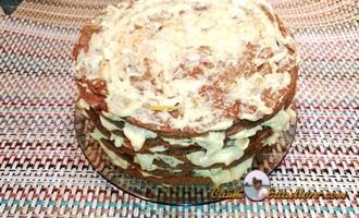 рецепт печеночного торта дома