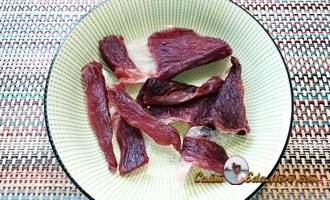 как приготовить вяленое мясом