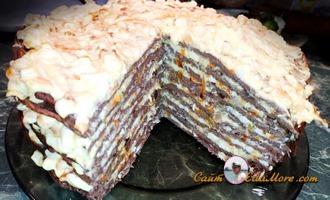 печеночный торт пошагово из свиной печени