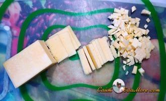 рубленные рыбные котлеты с сыром