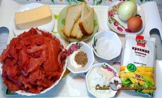 рубленые котлеты из рыбы с сыром и майонезом ингредиенты