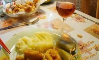 Блюда из кальмаров.Рецепты