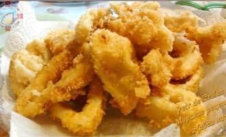 Блюда из кальмаров рецепты