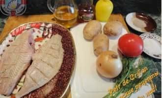 Блюда из камбалы. Ингредиенты