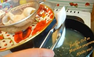 Блюда с кальмарами
