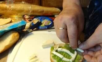 рецепт бутербродов +с сыром фото