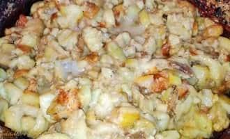 баклажаны жареные +на сковороде, баклажанами жареные +с чесноком +с фото, жареные баклажаны +с чесноком рецепт +с фото