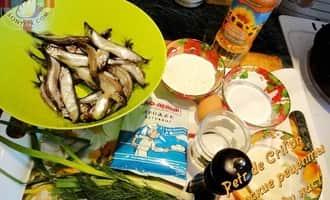 Тушеная рыба. Ингредиенты