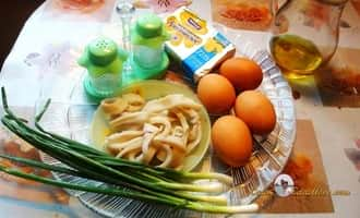 Кальмары рецепт. Ингредиенты