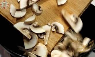 салат из морской капусты рецепт, капуста с грибами рецепт,