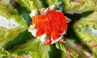 салат крабовые палочки капуста