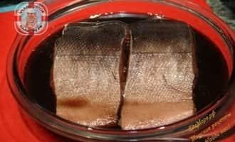 лосось в глазури