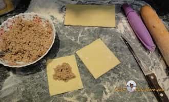пирожки +из слоеного теста +с фото, выпечка на гриле, пирожки +из слоеного теста +в духовке