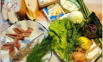 Рецепт бутербродов с рыбой. Ингредиенты