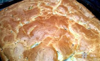 закрытый пирог с мясом, заливной пирог с мясом на молоке, печем пироги с мясом