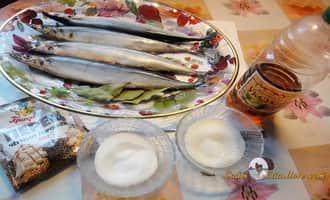 Рецепт засолки рыбы. Ингредиенты