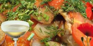блюда из камбалы, рыба запеченная с овощами рецепт, тушеная рыба с овощами, рецепты из рыбы, рецепты рыбы, рецепт приготовления рыбы, рецепты блюд из рыбы, блюдо из рыбы, , рецепты рыба,