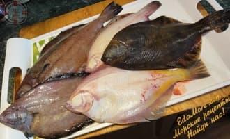 камбала филе, рыба камбала, камбала состав, камбала калорийность