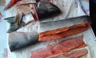 рыба кижуч фото, кижуч рыба рецепты, рыба кижуч +в духовке, как приготовить рыбу кижуч