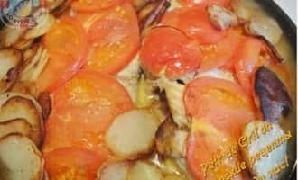 Рыба запеченная с овощами рецепт