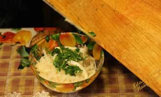 салат из кальмаров простой и вкусный пошаговый, салат из консервированных кальмаров простой и вкусный