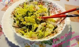 крабовый салат с  морской капустой фото