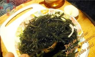 Салат с морской капустой фото