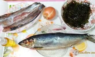 Салат с морской капустой и селедкой, салат морская капуста с яйцом калорийность