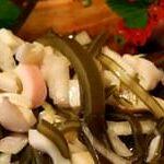 Морская капуста с кальмаром