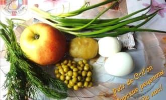 Салат с селёдкой ингредиенты