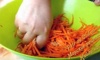 Салаты из моркови фото