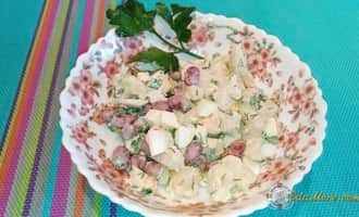 цветная капуста салаты рецепты быстро +и вкусно, салат из цветной капусты быстро и вкусно