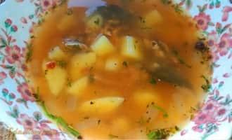 суп с килькой в томатном рецепты, суп из кильки рецепт