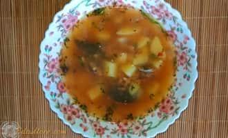 Суп из кильки, суп из кильки в томатном, суп из кильки в томатном соусе