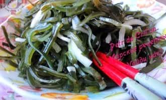 Как приготовить морскую капусту. Результат