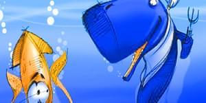 вкусные кальмары, кальмар и кашалот, гигантский кальмар