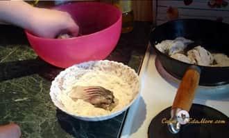 рыба жареная под, жареный толстолобик, рецепт жареного толстолобика, толстолобик жареный на сковороде,