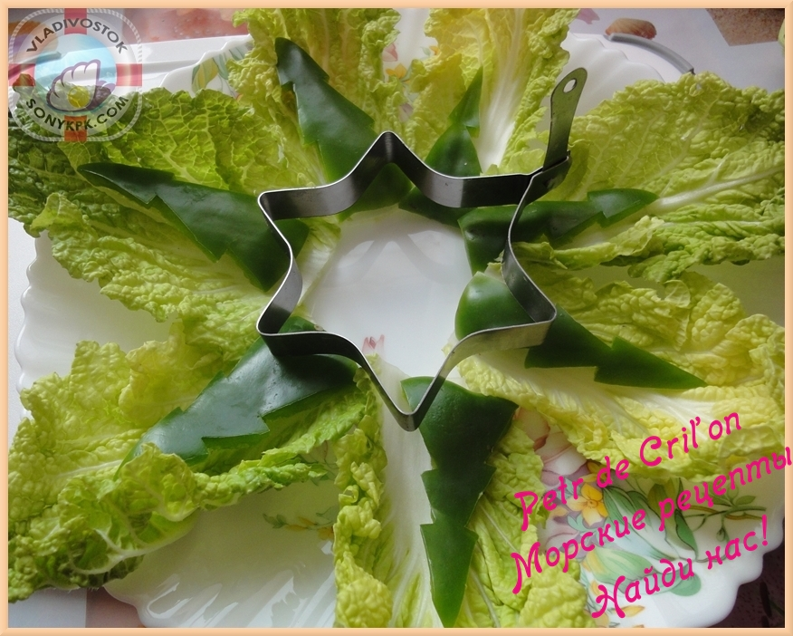 салат крабовые палочки кукуруза капуста